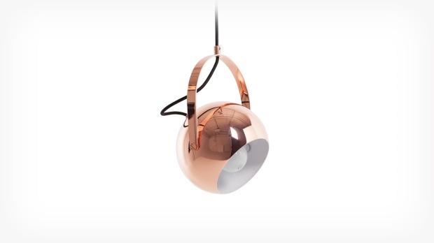 Ball Pendant W/Handle- Copper