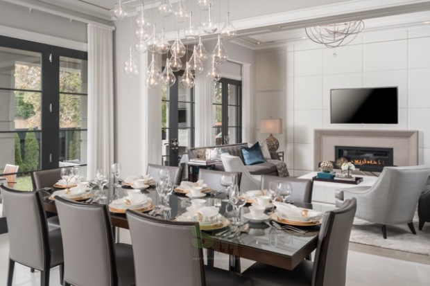 Real Estate Photography, interior design, dining room