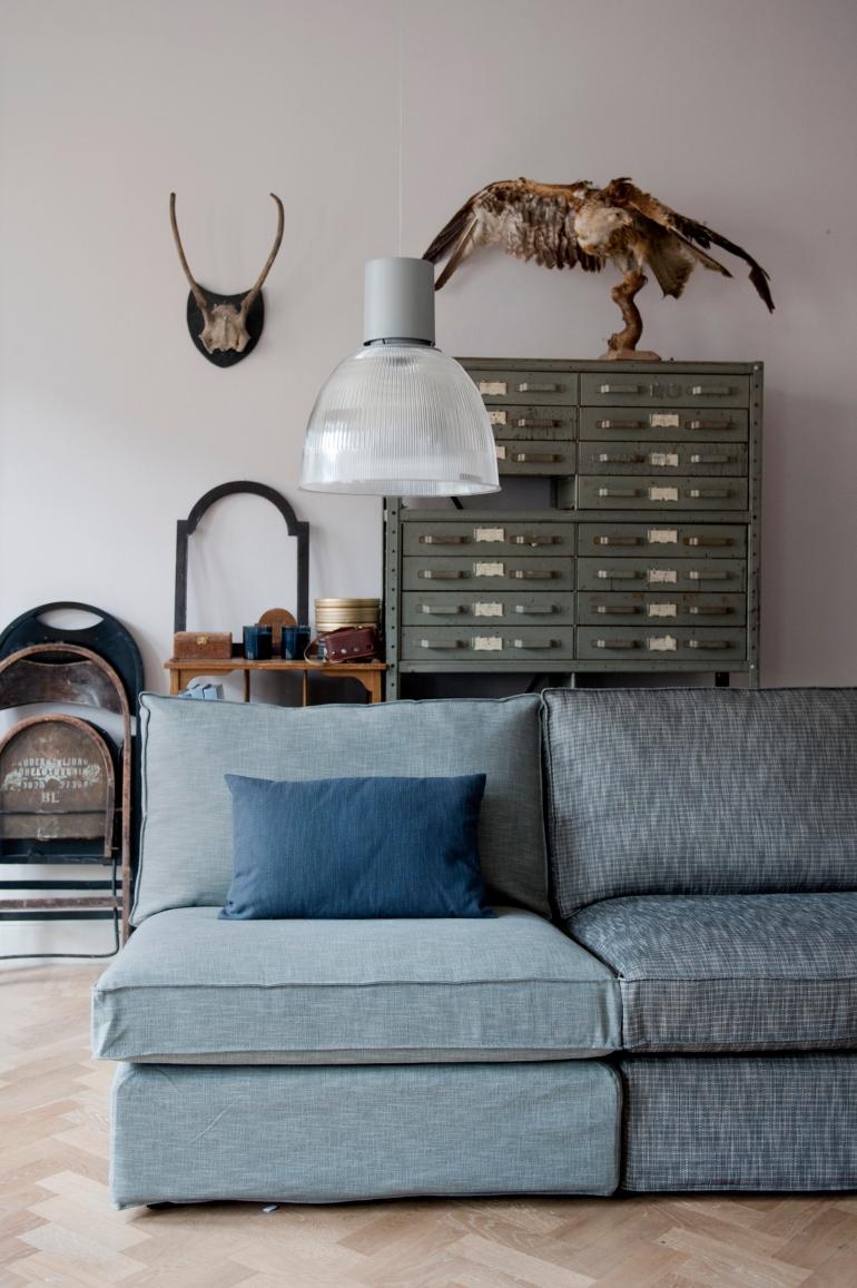 vintage style bemz sofa covers green blue ikea hack