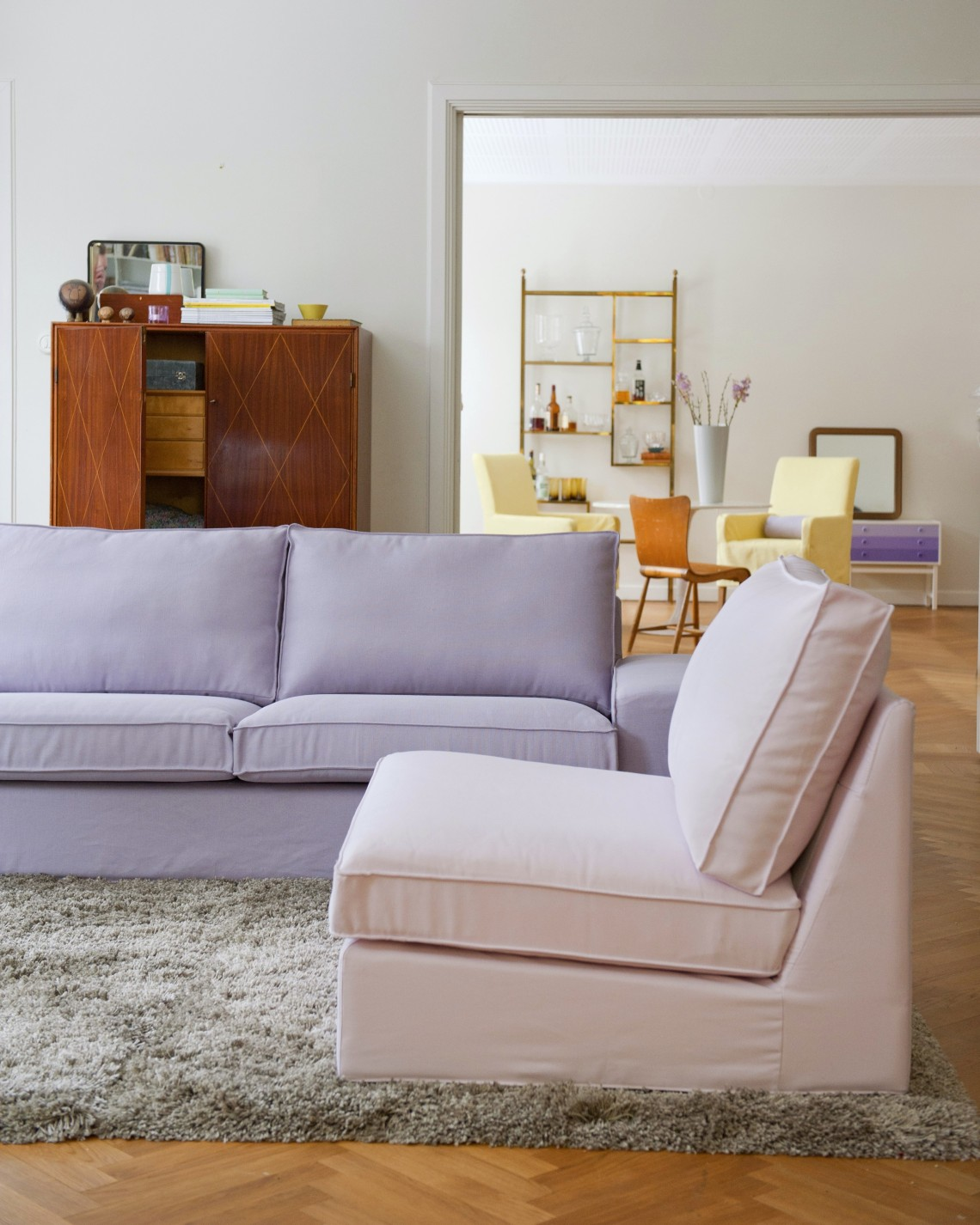 ikea cover hacks bemz pink purple