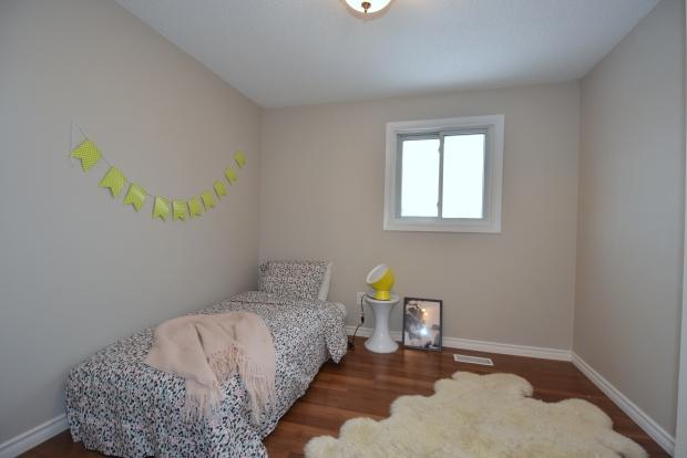 girl's bedroom home staging, scandinavian style, modern style