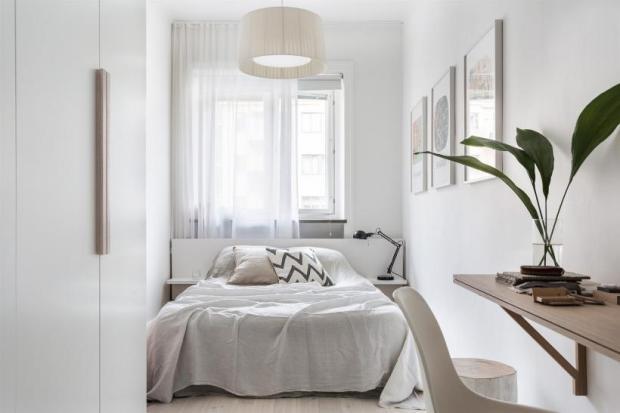 Scandinavian design, bedroom